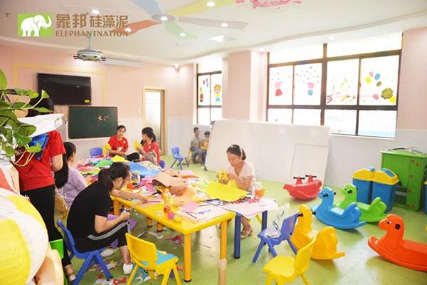 爱汐童年丽水幼儿园内部施工照片