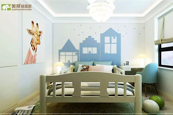 卧室用什么颜色象邦硅藻泥