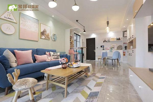 70㎡的北欧两居室,清新大方元气十足,我的家与众不同!