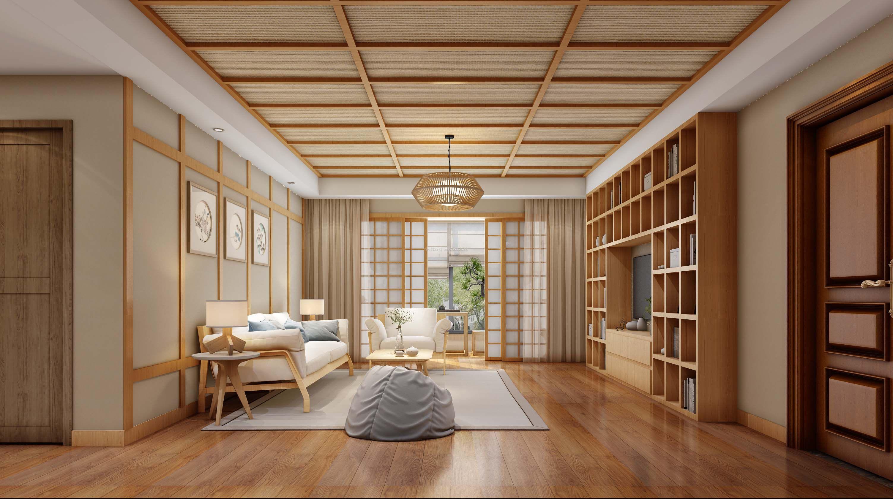 日式风格效果图