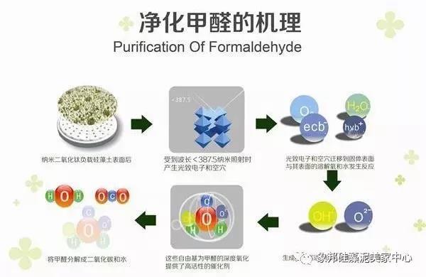 净化甲醛的机理